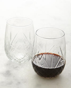 Dublin Stemless Wine Glasses, Set of 8